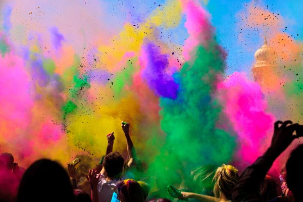 Holi El Festival De Los Colores En India Into2lightindia